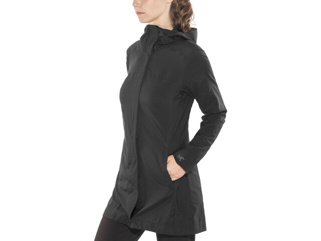 Arc'teryx A2B Windbreaker Jacket Women Black